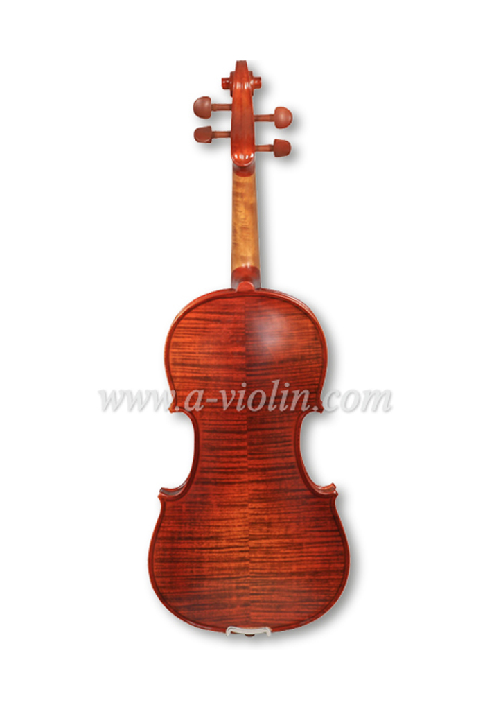 Dyed hardwood fingboard purfled violin (VG200)