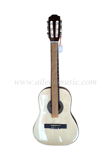 "32"" Linden Plywood Winzz Brand Small Size Classical Guitar (AC32)"
