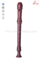 Wooden Copy Baroque Plastic Alto Recorder Flute (RE2438B-2)