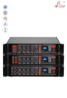 Professional CMOS Priority Mircrophone With Mute Function Public Address Power Amplifier (APMP-0218BD)