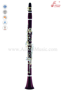 Silver Plated 17 Keys Rose Wood Body Kb clarinet (CL3100S)