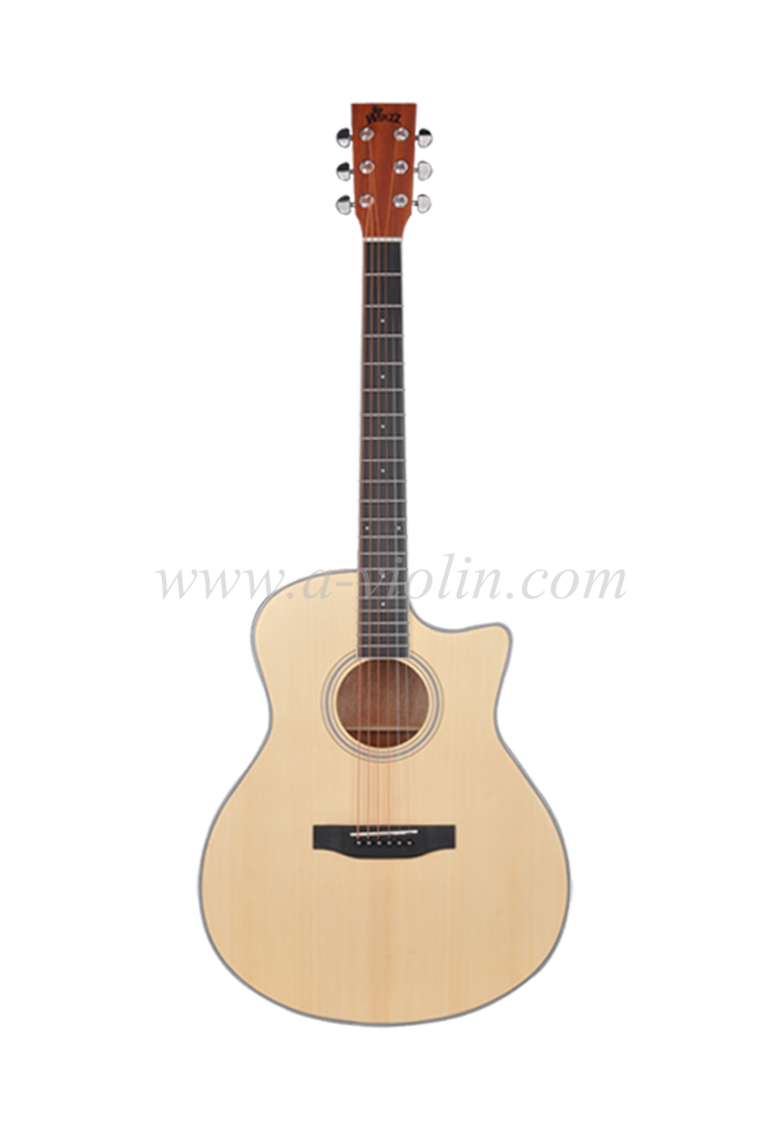 [Aileen] High Quality Student Acoustic Guitar (AF17C-GA)