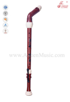 Wooden Copy Red Plastic Bass Recorder Flutes (RE2458B)