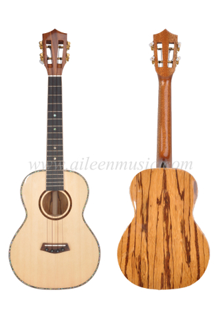 China Factory OEM Concert And Tenor All Solid Ukulele (AU188-26)