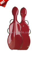 Composite Material Interior Fiberglass Cello Case (CSC007)