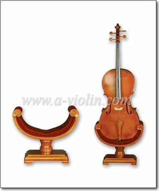4/4,3/4,1/2 Hard Wooden Cello Stand (STC10)