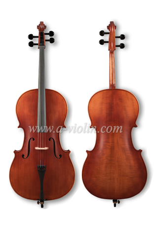 Wholesale Solid Straight Grain Spruce Top Cello With Bag (CM130)