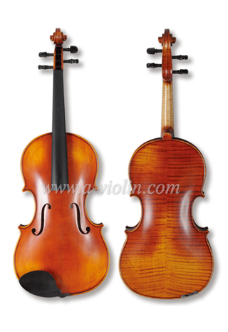 High Grade Flamed Maple Antique Viola (LH200S)