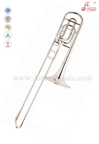 F/Bb Key Silver Lacquer Tenor Trombone With ABS Case (TB9133G)