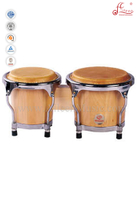 Wooden Mini Bongo Drum (ABOO111NW)