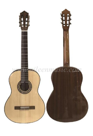 OEM Wholesale 39 Inch Vintage Series Wood Binding with Inlay Classical Guitar(ACM17)