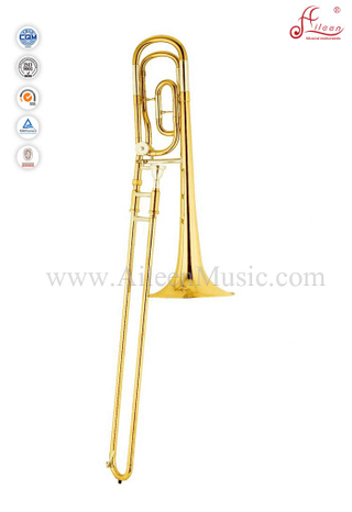 Gold Lacquer F/Bb Key Bass Trombone With ABS Case (TB9202G)