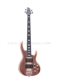 Ash & Walnut Body 4 Strings Electric Bass (EBS714-5)