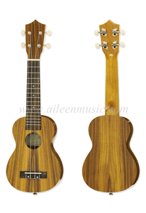 High Quality More Size All Koa Plywood with Aquila Strings Ukulele (AU50LY)