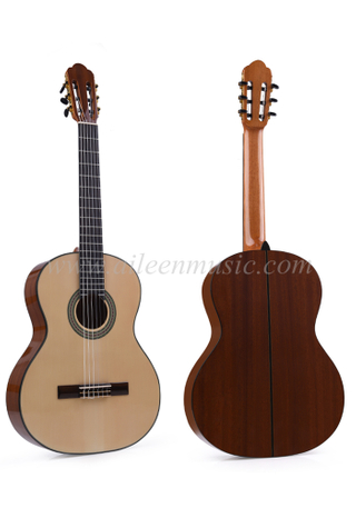 "39"" Solid Top Handmade Classical Guitar (ACM10)"