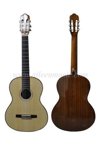 39 Inch Advancing Student Winzz Series Spruce Plywood Classic Guitar