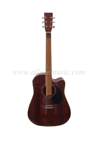 "41"" Cutaway Electric Acoustic Guitar With 4 Band EQ (AF448CE)"