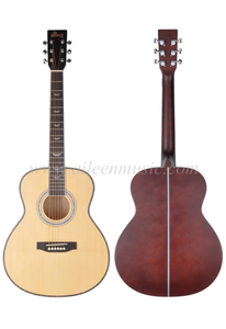 36 Inch Round Body Winzz Series Student Acoustic Guitar (AF168W-36)