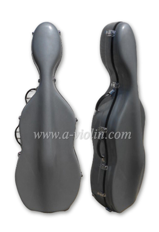 4/4,3/4,1/2,1/4 Fiberglass Cello Case (CSC005)