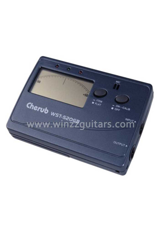Digital Tuner Designed For Guitar And Bass (WST-520GB)
