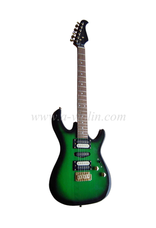 ST Style Solid Wood Top Electric Guitar (EGS212R)