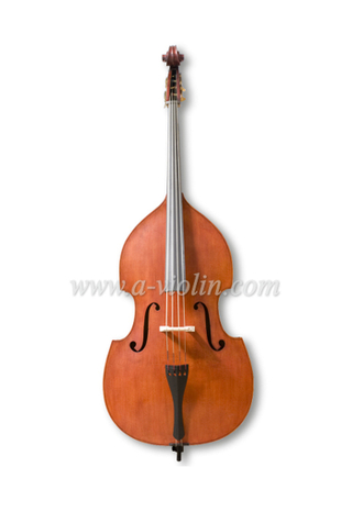 Gambe Shape Arched Back Flamed Hand made Student Double Bass (GDB102)