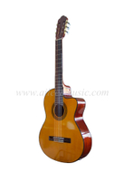 "39"" Cutaway Electric Classical Guitar With 4-band EQ (ACG21CE)"