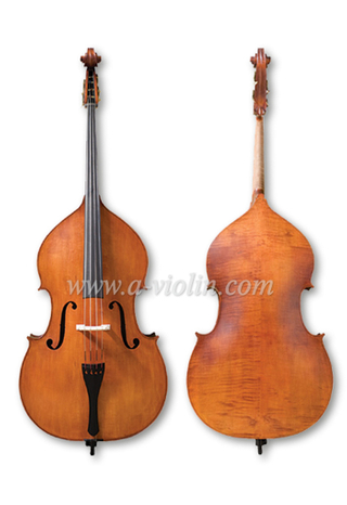 Hand Spirit Varnish Carved Spruce Double Bass (VDB220)