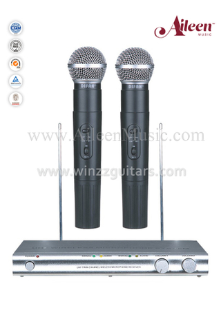 Wholesale FM Hanheld VHF Microphone Wireless Microphone (AL-500VM)