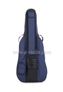 4/4 - 1/2 Nylon Oxford Exterior Foam Cello Bag With Three Handles (BGC007)