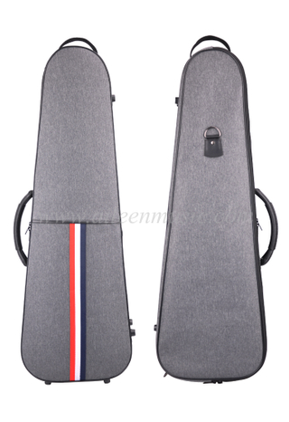 Grey OEM Wholesale 4/4-1/4 Quality Oxford Violin Case(CSV502B1)