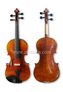 Professional Wholesale Flamed Advanced Violin ( VH100Y )