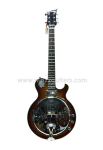 Solid Wood Jazz Body Cutaway Dobro Resonator Guitar (RGS60E)