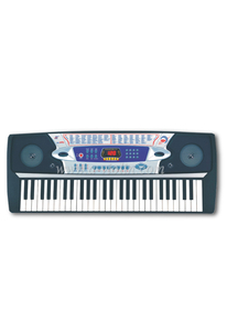 54 Keys Digital Electronic Keyboard Instrument EK54208)