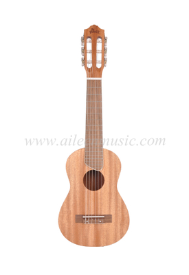"6 Strings 28"" All Mahogany Plywood Guitarlele (AGU77L-2)"
