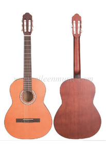 36 Inch Advancing Student Catalpa Plywood Back And Side Classical Guitar (AC161)
