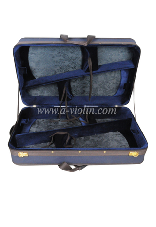 Quadruple Oxford Instruments Wooden Hard Case Violin Carriage Case (CSV407)