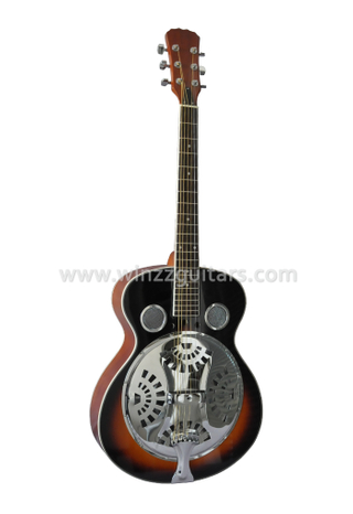Spider Cone Plywood Electric Resonator Guitar/Resophonic Guitar (RGS88)