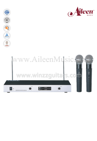 Fixed Channel FM VHF Handheld MIC Wireless Microphone (AL-SE2021)