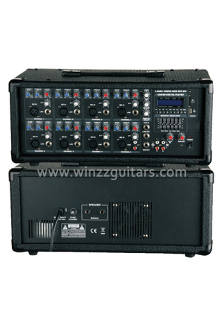 Professional 8 Channel Mobile Power PA Amplifier With EQ ( APM-0815BU )