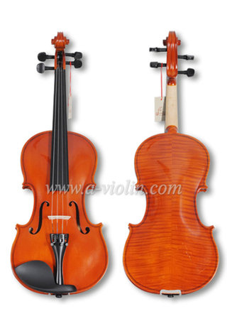 Natural Flamed Acoustic Student Violin Outfit For Beginners(VG001-HP)