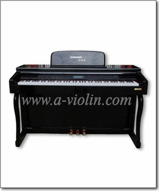 Digital Piano 88 keys/Black Polish Upright Piano/Electronic Piano (DP606)