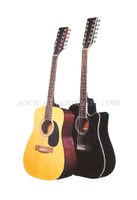 "12 Strings 41"" Student Acoustic Guitar (AF8a8C12)"
