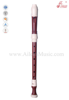 Wooden Copy Baroque Red Soprano Recorder Flute Instruments (RE2428B)
