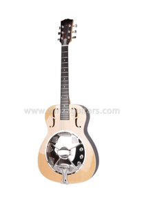 Solid spruce top Wooden resonator guitar (ARG231E)