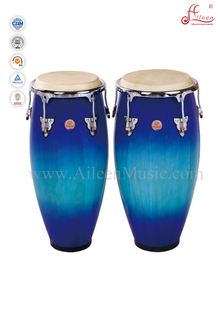 Latin Percussion Wooden Conga Drum Set (ACOC110BB)