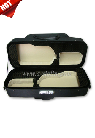 4/4 Styrofoam Shell Double Violin Case (CSV203)