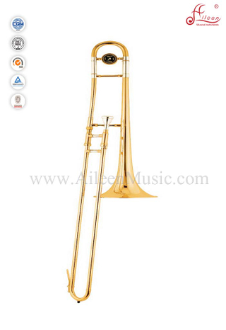 Gold lacquer Bb key Yellow Brass Slide Alto trombone (TB9001G)