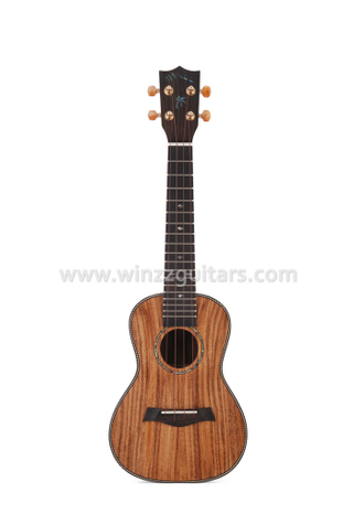 All solid koa top Premium OX-bone nut binding fingerboard ukulele (AU50S)
