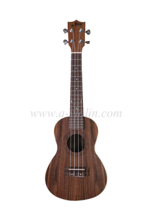 Top selling koa plywood Arched back ukulele (AU50LAB)